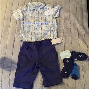 Beautiful 6-12 month infant boys outfit